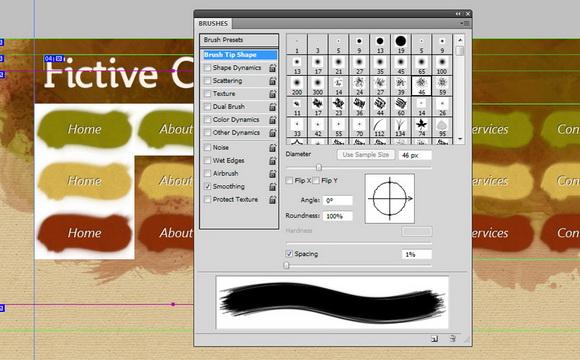 brushes-palette
