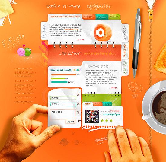 Сайты с хорошим веб дизайном