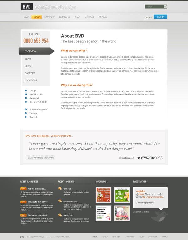 создание профессионального сайта с нуля