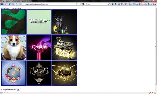 веб галерея