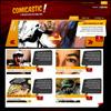 Создаем  веб-дизайн на тему комиксов, Photoshop и HTML+CSS (Часть 2).