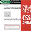 Совершенствуйте сайты с помощью CSS3-анимации.