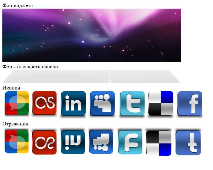 панель для сайта