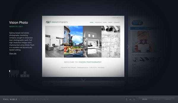 дизайн сайта портфолио