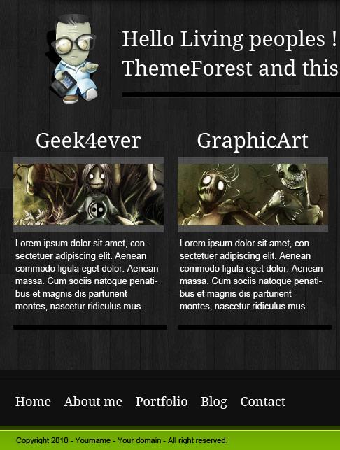 разработка дизайна сайта