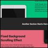 Создайте эффект замаскированного фона с помощью CSS