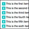 Измените нумерованные списки с помощью CSS