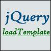 jQuery.loadTemplate