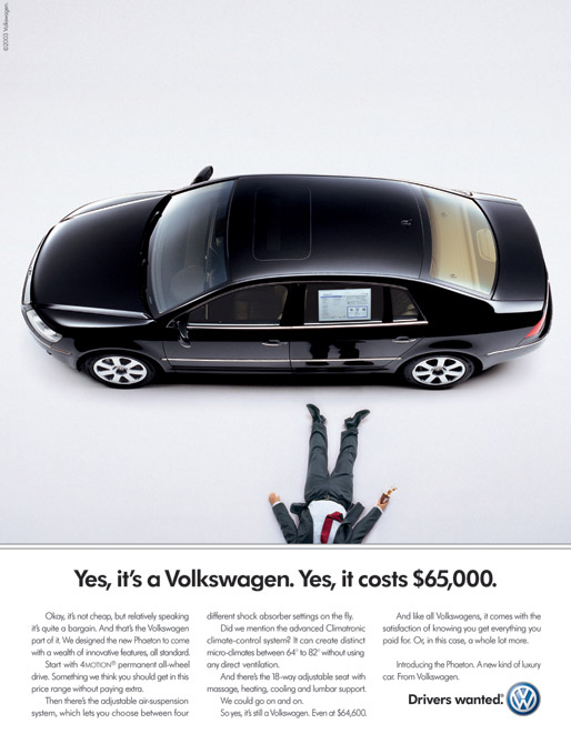 case study volkswagen vw the drivers wanted campaign The latest news and headlines from yahoo news former fbi director james comey says the president wanted him to the impactful photos show drivers in.