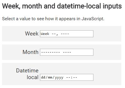 Что нового в HTML 5.1