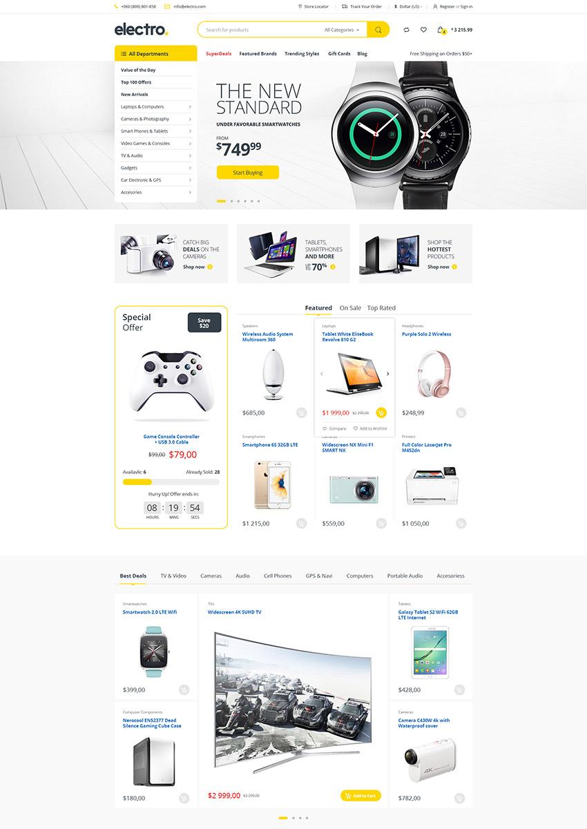 Лучшие шаблоны сайтов для Photoshop (PSD) 2016