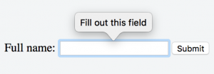 Интерактивная валидация HTML форм