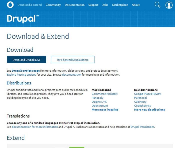 Создание сайтов на drupal оптимизация ядра сайта частник