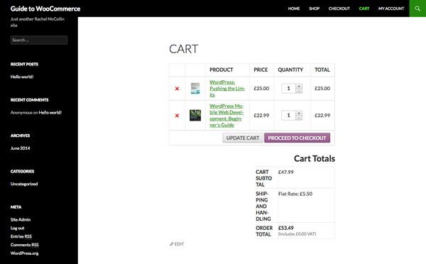 WooCommerce: добавление физических товаров в магазин