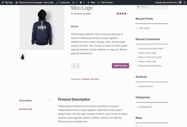 Как улучшить видимость атрибутов товаров в WooCommerce