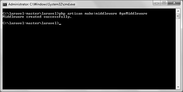 Laravel – Middleware