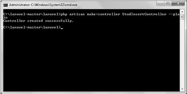 Laravel — добавление записей, метод insert