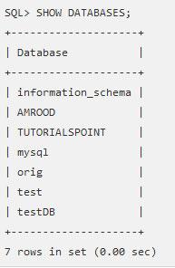 SQL — Создание базы данных