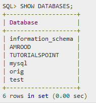 SQL — Удаление базы данных