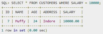 SQL — Выражения