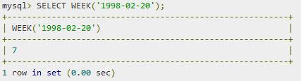 SQL — Функции даты