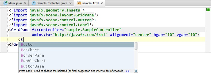 Короткие уроки по JavaFX IntelliJ IDEA