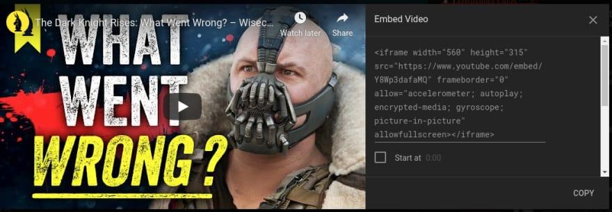 Отложенная загрузка встроенных видео YouTube: работа с HTML iframe