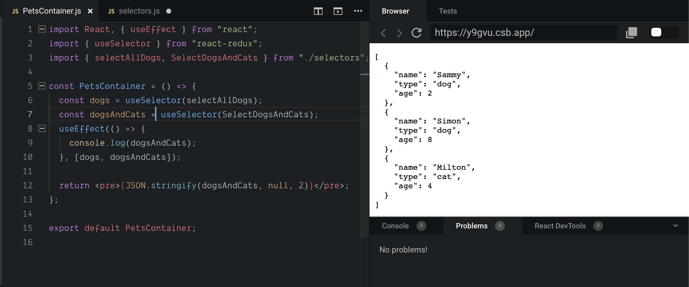 Повысьте производительность приложений React + Redux с помощью библиотеки Reselect