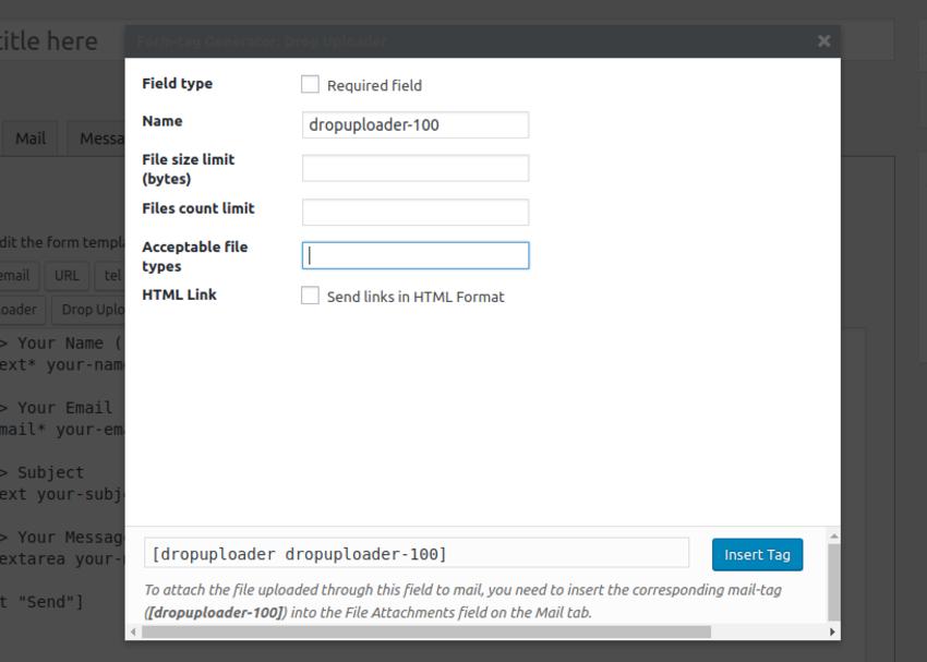 Как создать формы загрузки файлов на сайте WordPress