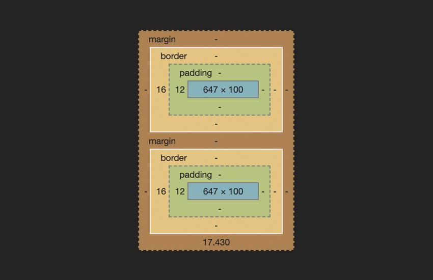 Основы CSS: Сворачивание полей