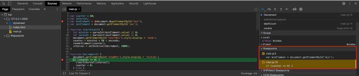 Рекомендации по отладке Javascript