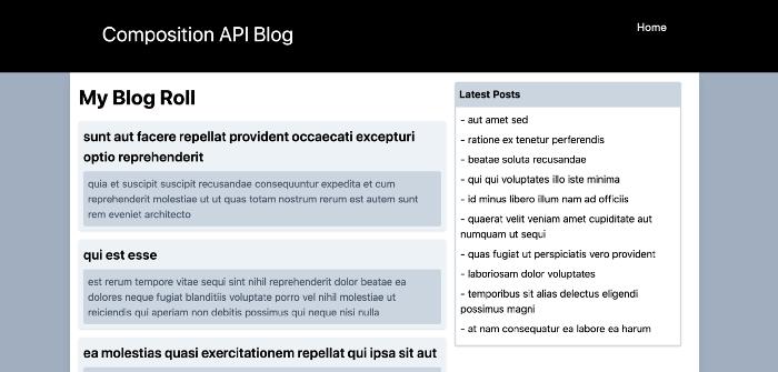 Разработка приложения с использованием Vue 3 Composition API