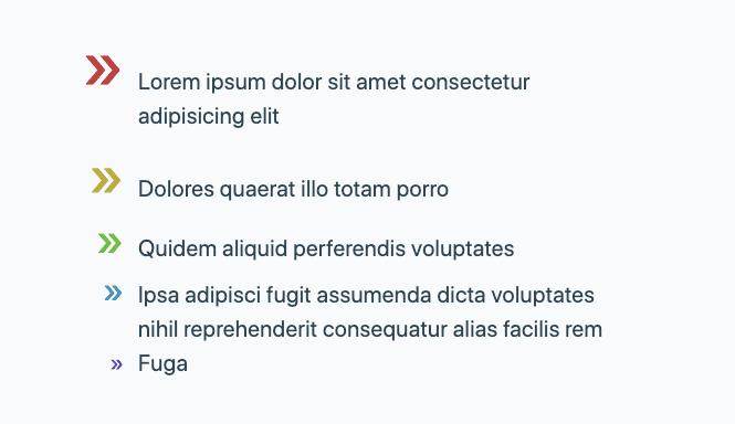 Пользовательские маркеры с помощью CSS ::marker