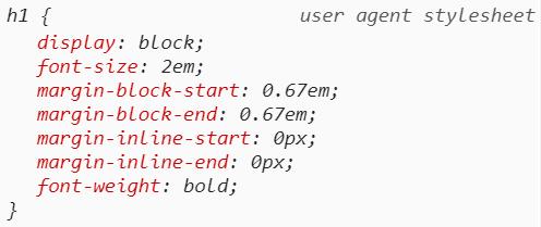 Ключевые слова CSS «Initial», «Inherit» и «Unset»