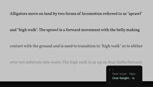 Использование CSS-свойства line-height для улучшения читабельности текста