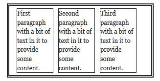 Отрицательные поля в CSS