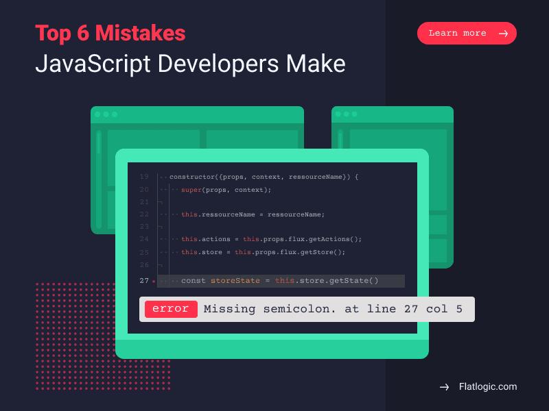 Основные ошибки, допускаемые разработчиками JavaScript