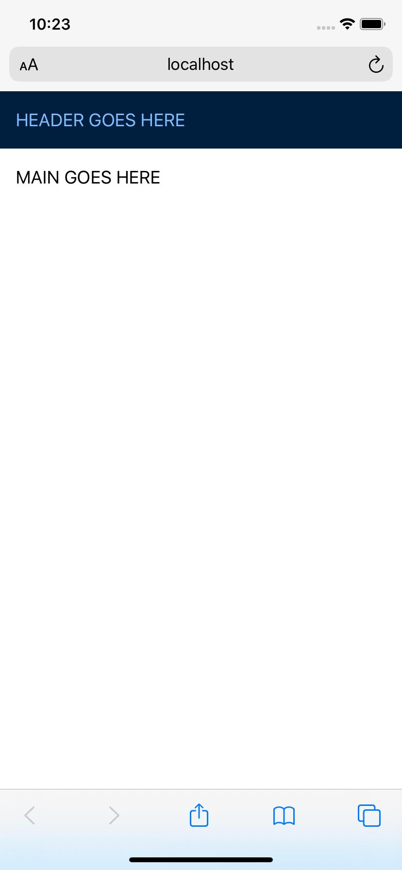 CSS исправление для 100vh в мобильных WebKit браузерах