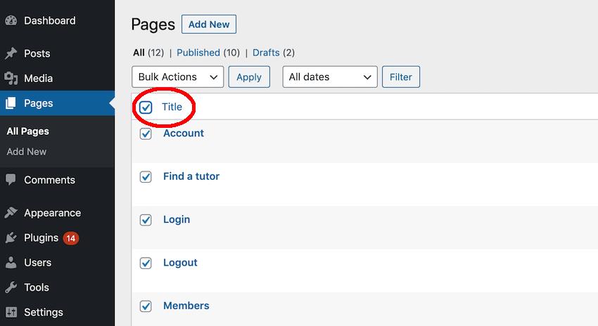 Как сбросить ваш сайт на WordPress