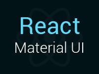 React JS Material UI