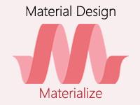 CSS фреймворк Materialize